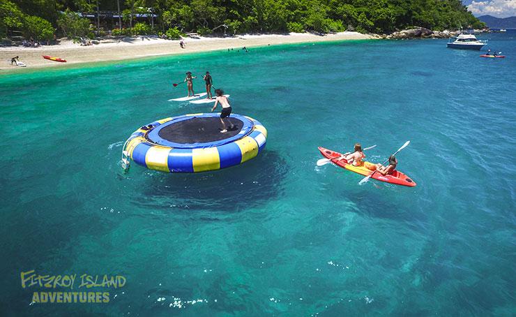 Snorkeling Great Barrier Reef with Bonus Ocean Trampoline