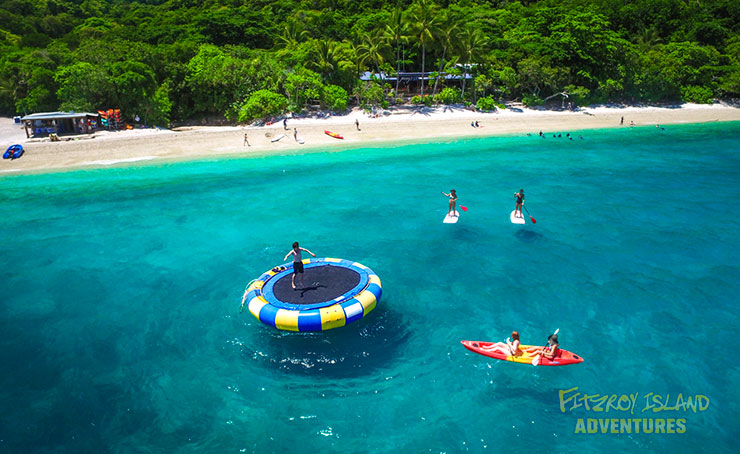 Fitzroy Island Great Adventures On The Ocean Trampoline