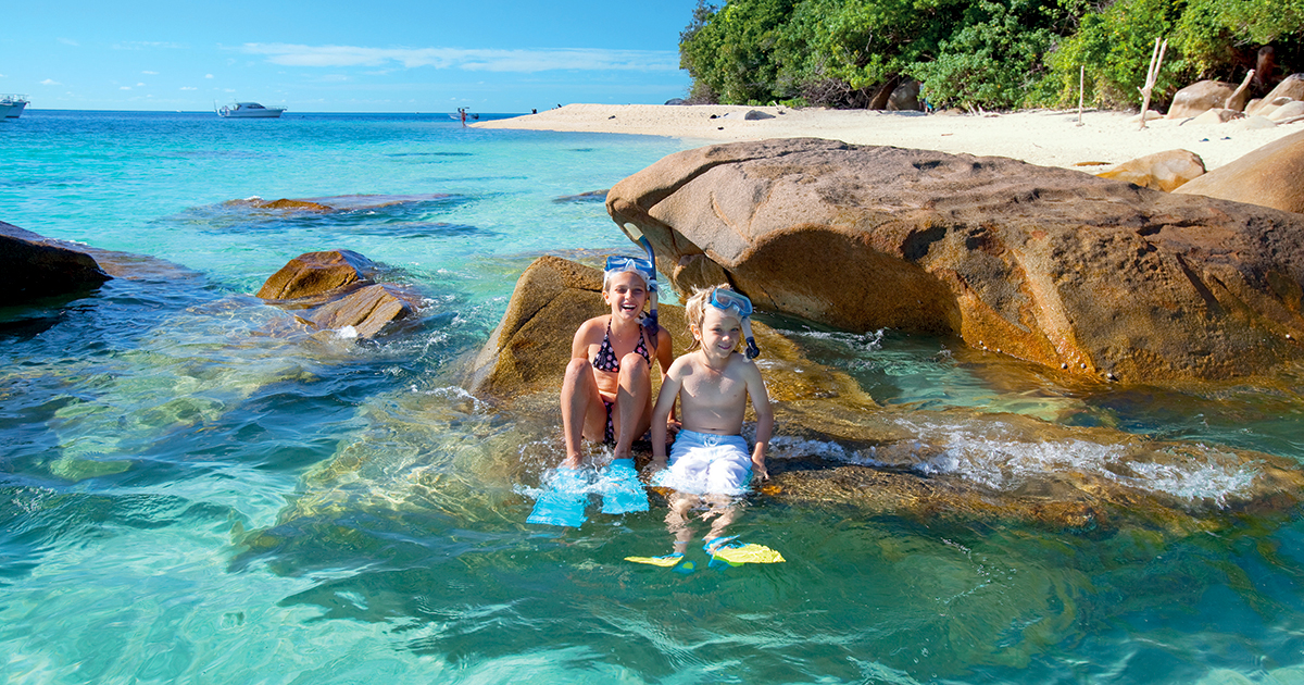 Great Barrier Reef Cruises to Fitzroy Island