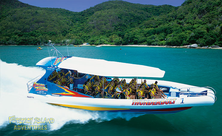 Half Day Great Barrier Reef Tours Aboard Thunderbolt