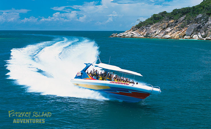 Half Day Great Barrier Reef Cruises aboard Thunderbolt