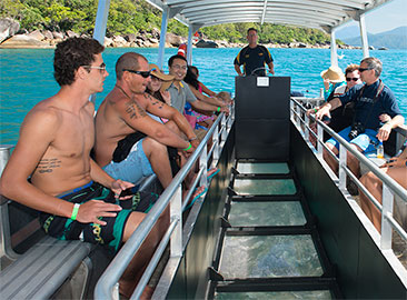 Great Barrier Reef Tours with Glass Bottom Boat