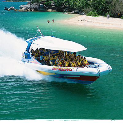 Half Day Great Barrier Reef Tours to Fitzroy Island