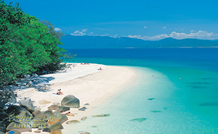 Full Day Great Barrier Reef Tours from Cairns to Fitzroy Island