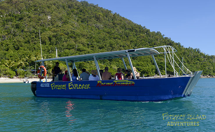 Half Day Great Barrier Reef Cruises aboard Fitzroy island Explorer