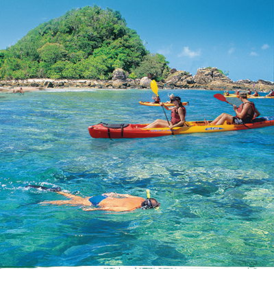 Sea Kayak Fitzroy Island