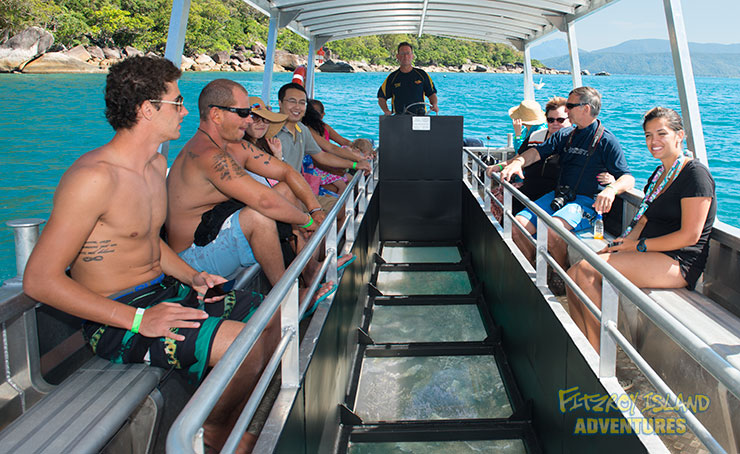 Half Day Great Barrier Reef Cruises with Glass Bottom Boat