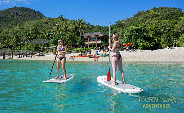 Great Barrier Reef Snorkeling and stand up paddle boards