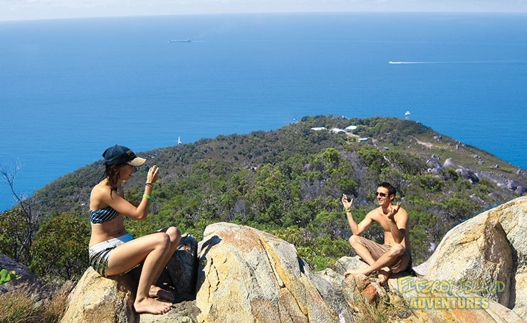 Walk to the Fitzroy Island Summit on your Great Barrier Reef Island Tours