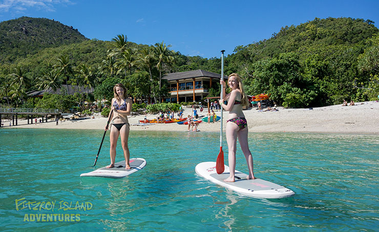 Half Day Great Barrier Reef Snorkelling and stand up paddle boards