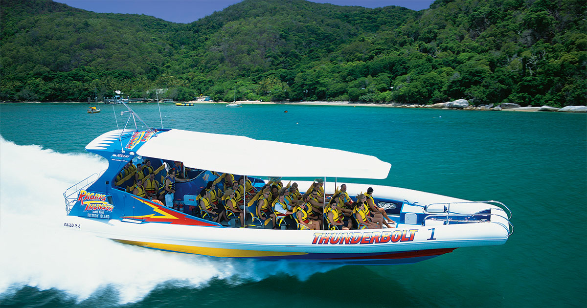 Great Barrier Reef Tours with Fitzroy Island Thunderbolt