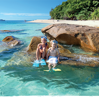 Family Great Barrier Reef Tours to Fitzroy Island