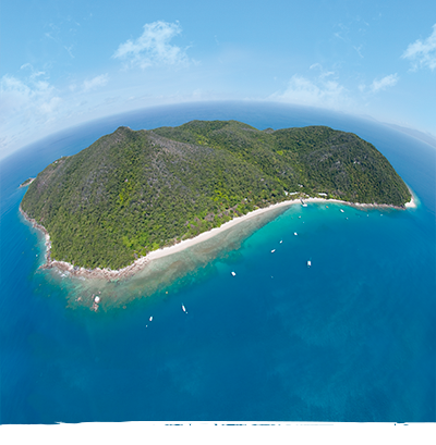 Full Day Great Barrier Reef Tours to Fitzroy Island