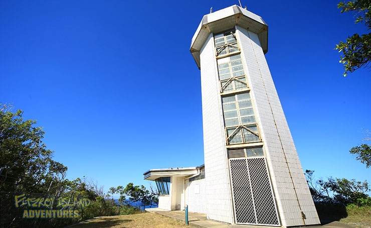 Fitzroy Island Lighthouse on your Great Barrier Reef Island Tours