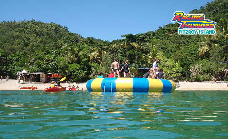 Ocean Trampoline With Fitzroy Island Activity Pass